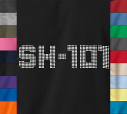 Roland Sh-101 T-shirt Analog Synth Synthesizer Vintage Equipment On Quality Tee