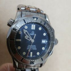 Omega Seamaster Professional 300m Men's Watch Silver Business Accessory