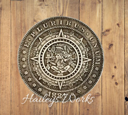 Hobo Nickels Mayan Calendar Universe Horoscope Carved Silver US Challenge Coin $13.99