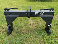Grizzly 3pt Quick Attach Hitch For Category 2 Tractors