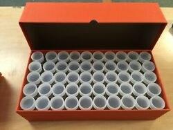50 Duraclear Quarter Tubes In A New Guardhouse Box For Storage Of 50 Tubes