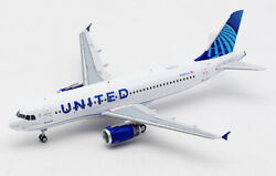Inflight United Airlines Airbus A320 N449ua 1/200 Diecast Plane Model Aircraft
