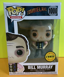 Funko Pop Movies Zombieland - Bill Murray 1000 Chase Limited Edition Vinyl