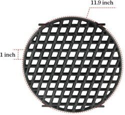 Cast Iron Sear Grate For Weber 8834 Gourmet Bbq System 22.5 Charcoal Grills
