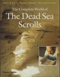 Archaeology , The Complete World Of The Dead Sea Scrolls , Hc/dj
