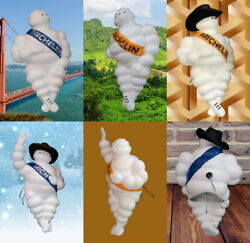 17 Michelin Plastic Man Doll Figure Collectibles For Truck And Tire Decoration