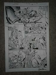Hawkman 29 Pg 3 Hawkman Stabbed By His 1st Ever Villain + Sexy Hawkwoman Zombies