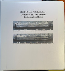 Super Jefferson Nickel Set Business And Proofs - 269 Coins Take A Look