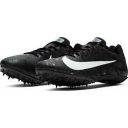 Nike Zoom Rival S 9 Menand039s Track Sprint Spikes 907564-003 Tool+spikes 8.5 -12.5