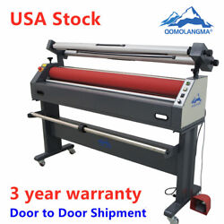 Qomolangma 63in Semi-auto Large Format Cold Laminator And Mounting Machine 110v
