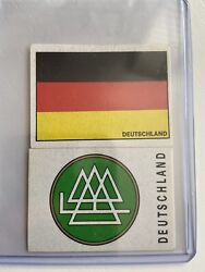 Panini Mexico 70 Germany / Deutschland - Flag And Shield - Excellent Condition