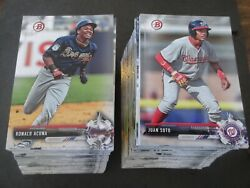 2017 Bowman Draft Baseball Complete Paper Set 200 Cards - Acuna Soto Adell