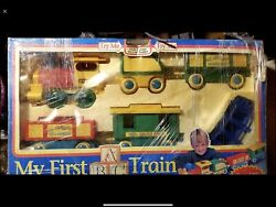 Vintage Rare Toy State My First Abc Kid's Express G Gauge Scale Train Set Nib