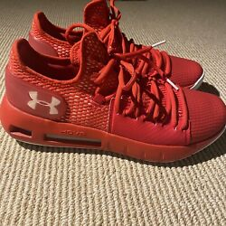 🔥under Armour Hovr Havoc Low Red 3020618-600 Menand039s Size 7.5 🔥