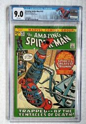 Amazing Spider-man 107 Cgc 9.0 Marvel 1972 National Diamond Sales Insert