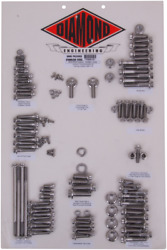 Diamond Engineering 12-point Polished Stainless Transformation 3 Kits Pb661s