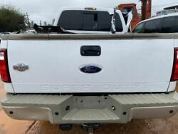 Trunk/hatch/tailgate With Tailgate Step Fits 08-12 Ford F250sd Pickup 488155