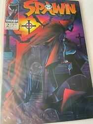 Spawn 2  9.8 1st Violator 2nd Appearance Of Spawn Todd Mcfarlane New Nm/mt