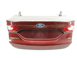 2013-2016 Ford Fusion Se Rear Trunk Tailgate Deck Lid Panel W/ Tail Light Oem