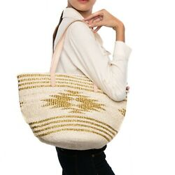 Larone Artisans Straw Tote And Shoulder Bags Eco-friendly Abaca Summer Bags