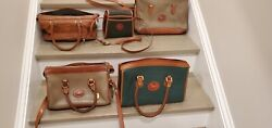 Dooney and Bourke Green And Brown Vintage Bags Sold separately $54.99