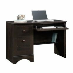 Bowery Hill Computer Desk In Antique Black