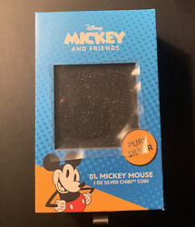 Chibi Coin Disney Series Mickey Mouse 1oz Silver Coin Limited /2000 In Hand