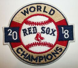 Boston Red Sox 2018 World Series Champions Embroidered PATCH 3 1 2quot; Iron Sew On