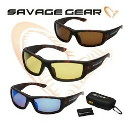 Fishing Polarised Sunglasses Savage Gear All Models Colours Lure Trout Bass Lrf