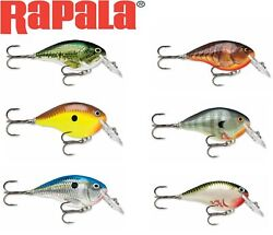 Rapala Dtandreg Dives-to Series | 4and039-10and039 | Various Colours