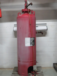 Ansul Inc. 106914 Vertical Bladder Tank 155 Gallon Approximate Used