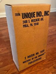 Vintage He-man Masters Of The Universe Motu 1983 Sealed Case Tablecloths