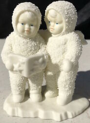 Dept 56 Snowbabies- Two Reading A Book