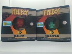 Hellboy And Abe Sapien Lot Funko 5 Star Sdcc 2019 Exclusive