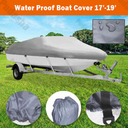 Heavy Duty 20and039 21and039 22and039 Boat Cover 600d For Trailerable Fishing Motorboat Bbh3q