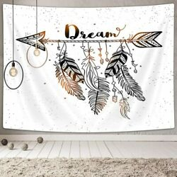 Dream Catcher Tapestry Ethnic Arrow Tapestry Vintage Feather Dream Tapestry
