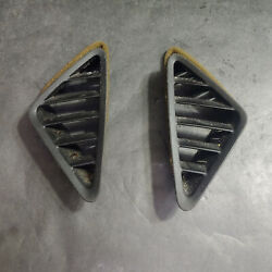 2010 Chevy Equinox Left And Right Heater Ac Air Conditioner Defrost Vent Covers