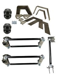 Rear Universal Weld On 8 Frame Notch Parallel 4 Link Slam Ss-7 Bags