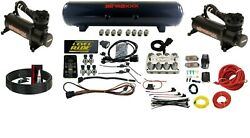 Level Ride Pressure And Airmaxxx Black 480 Air Management Kit Complete Wires And Fit