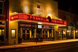 Franklin Theater Downtown Tennessee Photography Landmark Canvas Metal Print Bedr