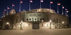 Soldier Field Chicago Bears Photography Metal Print Wall Art Picture Home Decor