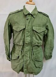 Genuine Vintage 1964 Us Issue M1951 Combat Field Jacket Small Short Ss 19