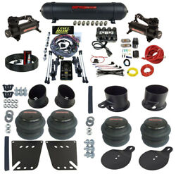 Complete Air Ride Suspension Kit W/3 Preset Heights For 1958-64 Chevy Impala