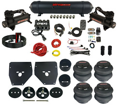 Complete Air Ride Suspension Kit Evolve W/airmaxxx Aluminum Tank For 1963-72 C10