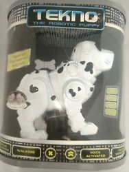 Tekno Robotic Puppy Special Dalmatian Edition, Never Opened