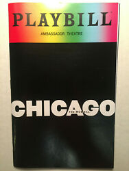 Chicago Playbill Book Broadway Pride June 2018 Ny New York
