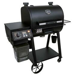 Oklahoma Joe Rider Deluxe Dlx Pellet Bbq Grill Electric Powered Pit Control