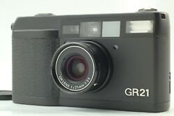 【near Mint /lcd Works】ricoh Gr21 35mm Point And Shoot Film Camera From Japan 68