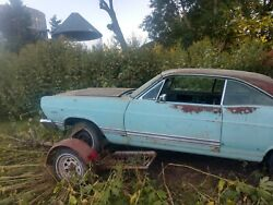 67 Fairlane Xl Rolling Chassis With Rear Seat