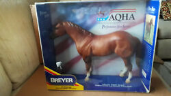 Breyer Aqha 1990 And Cigar 1998 Horses 2 In Lot And Both New In Box